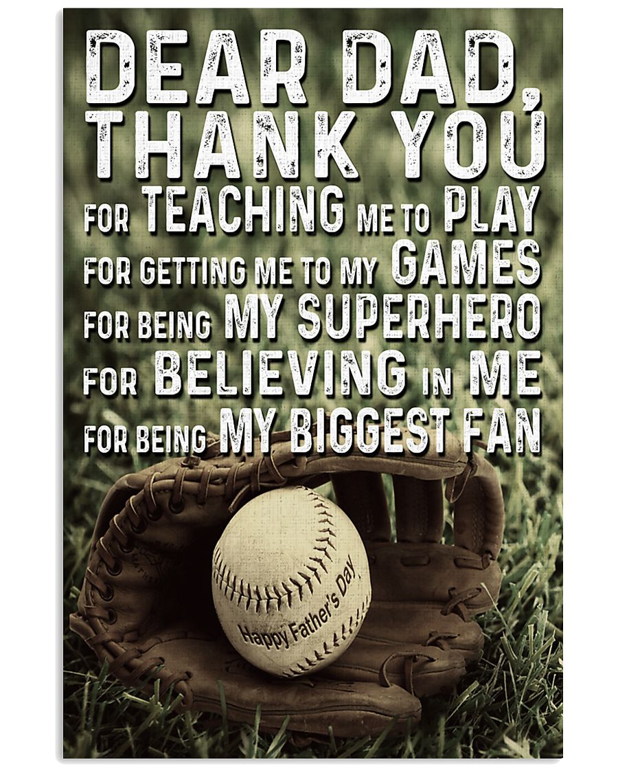 Thank you Dad 11x17 Poster