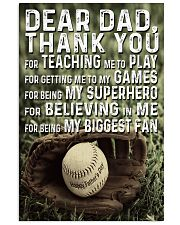 Thank you Dad 11x17 Poster front
