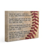Motivational Baseball Canvas Nhg07 Gallery Wrapped Canvas Prints tile