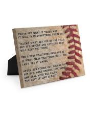 Motivational Baseball Canvas Nhg07 10x8 Easel-Back Gallery Wrapped Canvas thumbnail