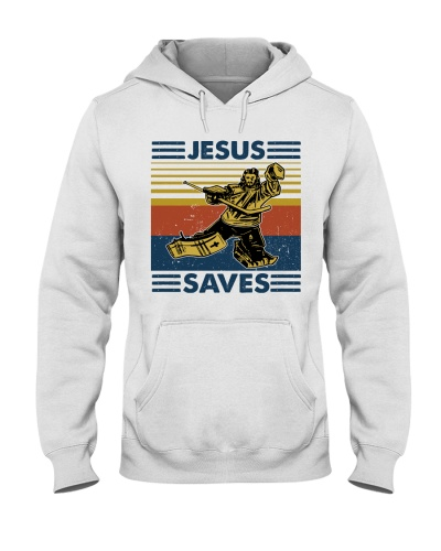 Jesus saves Hockey Nhg07