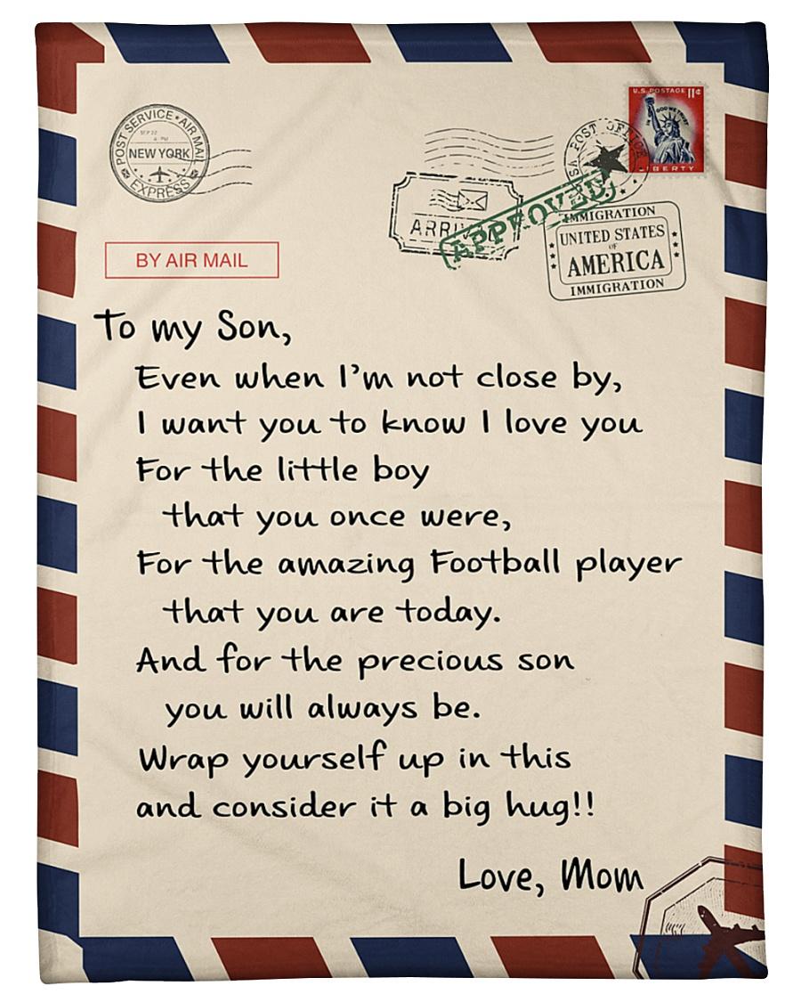 """Football Letter Blanket Small Fleece Blanket - 30"""" x 40"""""""