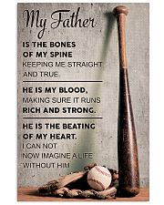 My father is the bones of my spine 11x17 Poster front