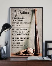 My father is the bones of my spine 11x17 Poster lifestyle-poster-2