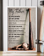 My father is the bones of my spine 11x17 Poster lifestyle-poster-4