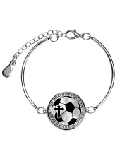 Your Talent Is God's Gift To You Soccer Nhg07 Metallic Circle Bracelet thumbnail