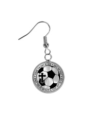 Your Talent Is God's Gift To You Soccer Nhg07 Circle Earrings thumbnail