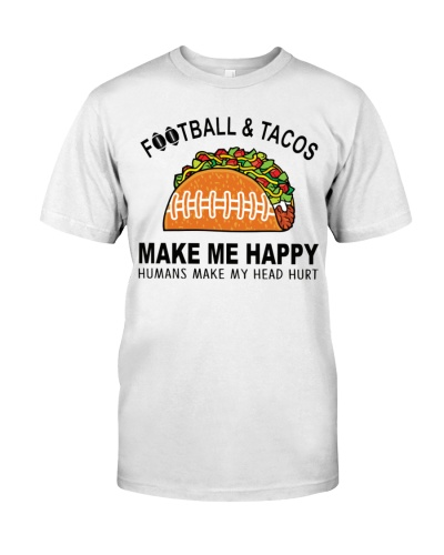 Football and tacos