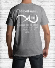 Football mom Classic T-Shirt lifestyle-mens-crewneck-back-1