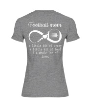 Football mom Premium Fit Ladies Tee thumbnail