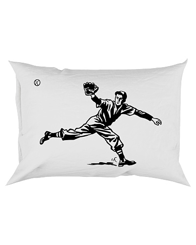 Baseball Player Pillowcase ncl04
