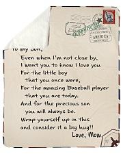"""Baseball Letter Blanket Nhg07 Sherpa Fleece Blanket - 50"""" x 60"""" thumbnail"""
