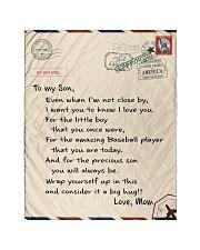 """Baseball Letter Blanket Nhg07 Quilt 40""""x50"""" - Baby thumbnail"""