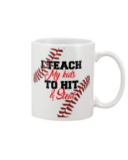 I Teach My Kids To Hit And Steal Nhg07 Mug front
