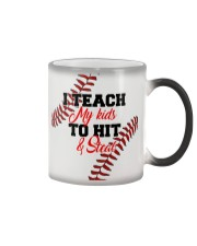 I Teach My Kids To Hit And Steal Nhg07 Color Changing Mug thumbnail
