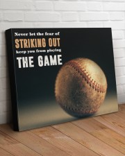 Never Let The Fear Of Striking Out  24x20 Gallery Wrapped Canvas Prints aos-canvas-pgw-24x20-lifestyle-front-08