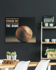 Never Let The Fear Of Striking Out  24x20 Gallery Wrapped Canvas Prints aos-canvas-pgw-24x20-lifestyle-front-19