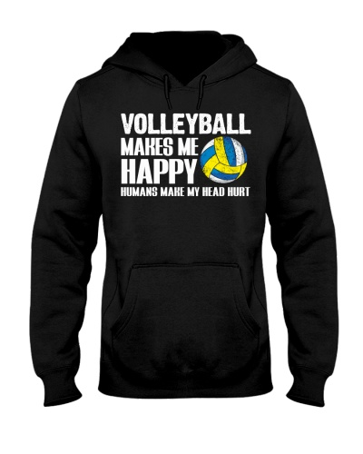 Volleyball Makes Me Happy