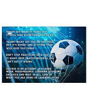Motivational Soccer Nhg07 24x16 Poster front
