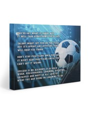 Motivational Soccer Nhg07 Gallery Wrapped Canvas Prints tile