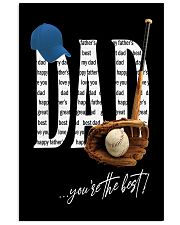 Dad - You're the best  11x17 Poster front