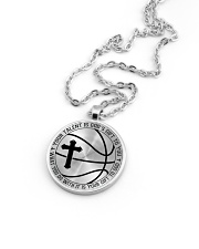 Your Talent Is God's Gift To You Basketball Nhg07 Metallic Circle Necklace aos-necklace-circle-metallic-lifestyle-05