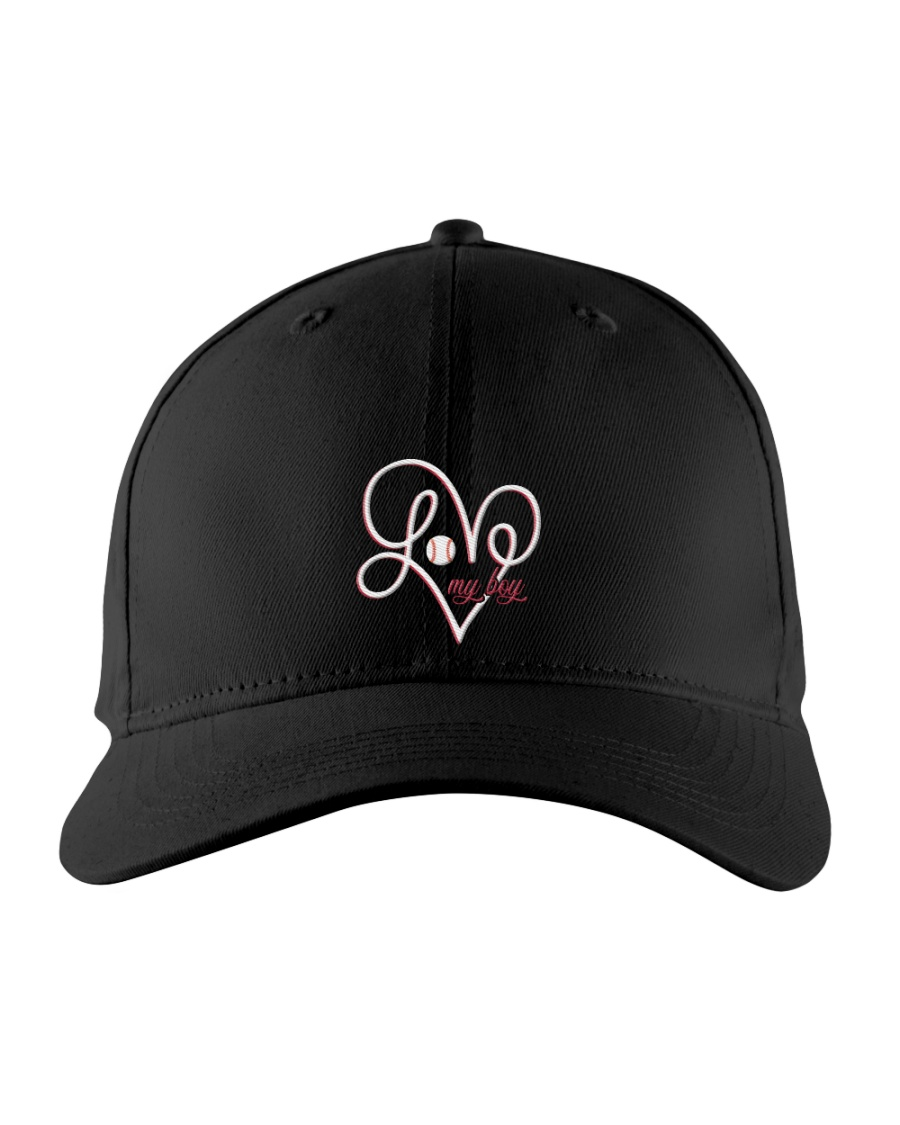 Love my boy ncl04 Embroidered Hat