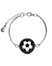 I Can Do All Things Soccer Nhg07 Metallic Circle Bracelet thumbnail