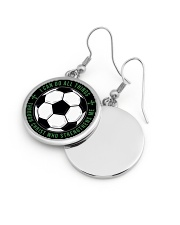 I Can Do All Things Soccer Nhg07 Circle Earrings aos-earring-circle-front-lifestyle-10