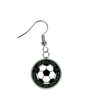 I Can Do All Things Soccer Nhg07 Circle Earrings thumbnail