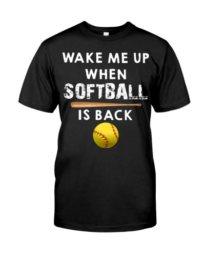 Wake Me Up When Softball Is Back