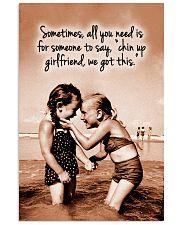 Chin Up Canvas Nhg07 11x17 Poster thumbnail