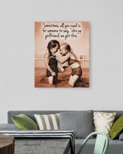 Chin Up Canvas Nhg07 20x24 Gallery Wrapped Canvas Prints aos-canvas-pgw-20x24-lifestyle-front-16