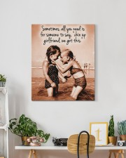 Chin Up Canvas Nhg07 20x24 Gallery Wrapped Canvas Prints aos-canvas-pgw-20x24-lifestyle-front-18