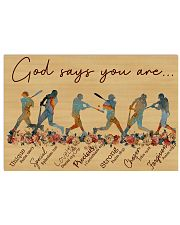 God says you are Nhg07 36x24 Poster front
