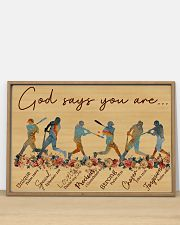 God says you are Nhg07 36x24 Poster poster-landscape-36x24-lifestyle-03