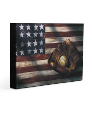 Baseball Flag Vintage Gallery Wrapped Canvas Prints tile