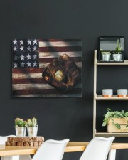Baseball Flag Vintage 24x20 Gallery Wrapped Canvas Prints aos-canvas-pgw-24x20-lifestyle-front-19