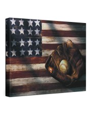 Baseball Flag Vintage 24x20 Gallery Wrapped Canvas Prints front