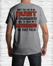 Don't tell me to be quiet ncl04 Classic T-Shirt lifestyle-mens-crewneck-back-1