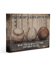 Your talent is God's gift Baseball Canvas Nhg07 Gallery Wrapped Canvas Prints tile