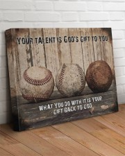 Your talent is God's gift Baseball Canvas Nhg07 24x20 Gallery Wrapped Canvas Prints aos-canvas-pgw-24x20-lifestyle-front-08