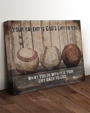 Your talent is God's gift Baseball Canvas Nhg07 24x20 Gallery Wrapped Canvas Prints aos-canvas-pgw-24x20-lifestyle-front-11
