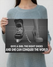 Give A Girl The Right Shoes Hockey Canvas Nhg07 14x11 Gallery Wrapped Canvas Prints aos-canvas-pgw-14x11-lifestyle-front-28