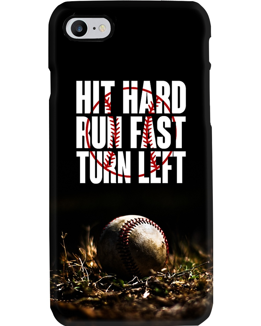 Hit hard run fast turn left ncl04 Phone Case