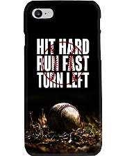 Hit hard run fast turn left ncl04 Phone Case i-phone-7-case