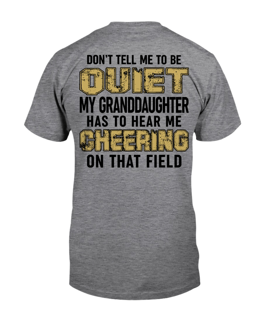 Don't tell me to be quiet ncl04 Classic T-Shirt