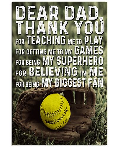 Thank you Dad Softball ver Nhg07