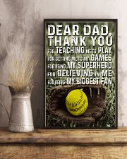 Thank you Dad Softball ver Nhg07 11x17 Poster lifestyle-poster-3