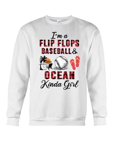 I'm a flip flops baseball ocean kinda girl